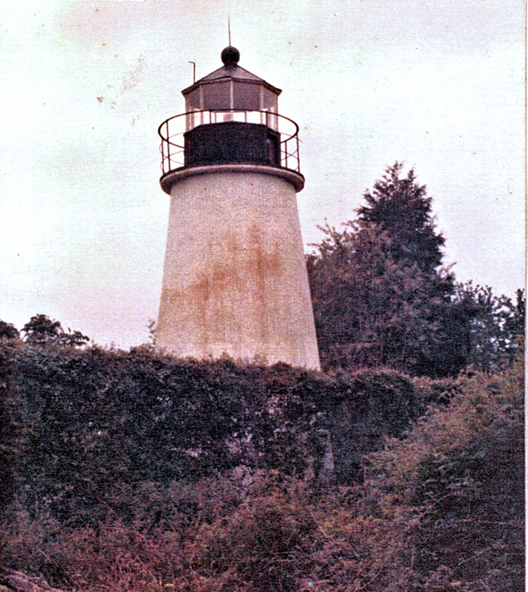 Lighthouse in March 1979